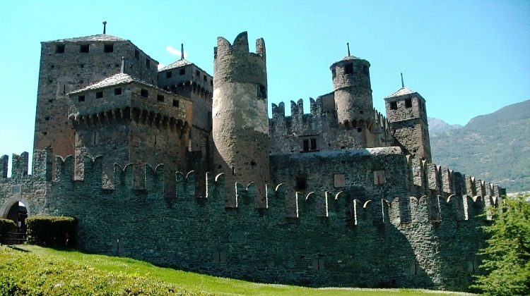 il castello di Fènis
